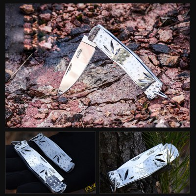 CIMA M6 Folding KnifePocket Knives and Folding Knives<br>CIMA M6 Folding Knife<br><br>Blade Edge Type: Fine<br>Blade Length: 56 mm<br>Blade Length Range: 5cm-10cm<br>Blade Material: Stainless Steel<br>Brand: CIMA<br>Color: Silver<br>For: Travel, Mountaineering, Hiking, Collecting, Camping, Adventure<br>Lock Type: Liner Lock<br>Package Contents: 1 x CIMA M6 Folding Knife, 1 x Paper Box<br>Package size (L x W x H): 12.00 x 6.00 x 2.00 cm / 4.72 x 2.36 x 0.79 inches<br>Package weight: 0.1200 kg<br>Product size (L x W x H): 7.50 x 2.00 x 0.25 cm / 2.95 x 0.79 x 0.1 inches<br>Product weight: 0.0500 kg<br>Unfold Length: 140 mm<br>Weight Range: 1g-50g