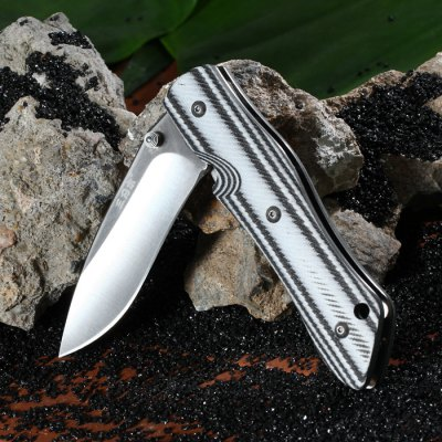 Sanrenmu 9051 MUC-GOH Stainless Steel Blade Folding KnifePocket Knives and Folding Knives<br>Sanrenmu 9051 MUC-GOH Stainless Steel Blade Folding Knife<br><br>Blade Edge Type: Fine<br>Blade Length: 7.8 cm<br>Blade Length Range: 5cm-10cm<br>Blade Material: Stainless Steel<br>Blade Width : 2.4 cm<br>Brand: Sanrenmu<br>Clip Length: 5 cm<br>Color: Black,Green<br>For: Travel, Collecting, Mountaineering, Adventure, Hiking, Camping<br>Lock Type: No lock<br>Package Contents: 1 x Sanrenmu 9051 MUC-GOH Folding Knife<br>Package size (L x W x H): 18 x 9 x 3 cm / 7.07 x 3.54 x 1.18 inches<br>Package weight: 0.160 kg<br>Product size (L x W x H): 11 x 3  x 1.9 cm / 4.32 x 1.18 x 0.75 inches<br>Product weight: 0.100 kg<br>Unfold Length: 19.5 cm<br>Weight Range: 51g-100g