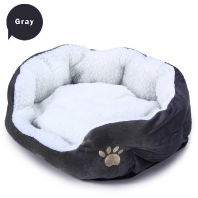 Dog Cat Comfortable Cashmere Soft BedCat Beds &amp; Furniture<br>Dog Cat Comfortable Cashmere Soft Bed<br><br>For: Cats, Dogs<br>Material: Cashmere<br>Package Contents: 1 x Cashmere Nest<br>Package size (L x W x H): 39.1 x 48.2 x 17.1 cm / 15.37 x 18.94 x 6.72 inches<br>Package weight: 0.410 kg<br>Product size (L x W x H): 35.3 x 45.4 x 13.9 cm / 13.87 x 17.84 x 5.46 inches<br>Product weight: 0.300 kg<br>Season: All seasons<br>Type: Beds