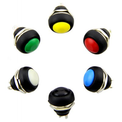 Seeedstudio Domed Push Button Set - 6PCS