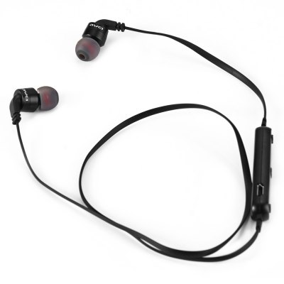 Awei A960BL Bluetooth 4.0 In-ear Wireless Sports EarphoneSports &amp; Fitness Headphones<br>Awei A960BL Bluetooth 4.0 In-ear Wireless Sports Earphone<br><br>Application: Sport<br>Bluetooth: Yes<br>Bluetooth distance: W/O obstacles ?10m<br>Bluetooth mode: Hands free<br>Bluetooth protocol: A2DP v1.2,AVRCP v1.4,HFP v1.6,HSP v1.2<br>Bluetooth Version: V4.0<br>Brand: awei<br>Color: Black,Blue,Red<br>Connecting interface: USB<br>Connectivity: Wireless<br>Core chip: Bluetooth V4.0<br>Driver unit: 11.5mm<br>Frequency response: 20-20000Hz<br>Function: Voice control, Bluetooth, Answering Phone, Microphone, Multi connection function, Noise Cancelling, Song Switching, HiFi<br>Impedance: 16ohms±15 percent<br>Model: A960BL<br>Music Time: 4 hours<br>Package Contents: 1 x Wireless Sport Stereo Bluetooth Headphone, 1 x USB charge cable, 1 x Bilingual User Manual in Chinese and English, 1 x Warranty Card, 2 x Pair of Earbud<br>Package size (L x W x H): 9.70 x 18.00 x 3.00 cm / 3.82 x 7.09 x 1.18 inches<br>Package weight: 0.093 kg<br>Plug Type: USB<br>Product size (L x W x H): 19.00 x 1.00 x 0.70 cm / 7.48 x 0.39 x 0.28 inches<br>Product weight: 0.016 kg<br>Sensitivity: 110 dB<br>Sound channel: Two-channel (stereo)<br>Standby time: 200 hours<br>Talk time: 6 hours<br>Wearing type: In-Ear