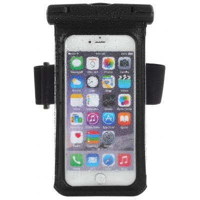 Practical PVC and ABS Material 100 Percent Waterproof Case for 5.5 inch Smart Phones