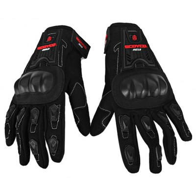 MC12 Full Finger Motorcycle Gloves