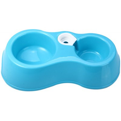 Pet Water Dispenser with Double Bowl