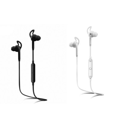 Awei A610BL Sports EarbudsSports &amp; Fitness Headphones<br>Awei A610BL Sports Earbuds<br><br>Application: Mobile phone, Computer<br>Bluetooth: Yes<br>Bluetooth distance: W/O obstacles ?10m<br>Bluetooth mode: Headset<br>Bluetooth protocol: A2DP,AVRCP,HSP,HFP<br>Bluetooth Version: V4.0<br>Brand: awei<br>Color: Black,White<br>Connecting interface: USB<br>Connectivity: Wireless<br>Frequency response: 20-20000Hz<br>Function: Bluetooth, Microphone, Voice control, Noise Cancelling, Multi connection function<br>Impedance: 16ohms<br>Model: A610BL<br>Music Time: 4 hours<br>Package Contents: 1 x Awei A610BL Sports Bluetooth 4.0 Earphone, 1 x USB Charge Cable, 1 x Cable Clamp, 2 x Pair of Earbud, 1 x Pair of Ear Hook<br>Package size (L x W x H): 10.00 x 17.30 x 3.50 cm / 3.94 x 6.81 x 1.38 inches<br>Package weight: 0.1050 kg<br>Plug Type: Bluetooth, USB<br>Product weight: 0.0130 kg<br>Sensitivity: 110 dB<br>Sound channel: Two-channel (stereo)<br>Standby time: 200 hours<br>Talk time: 6 hours<br>Wearing type: In-Ear