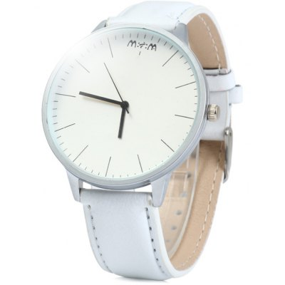 Mitina 231 Leather Band Men Japan Quartz Watch