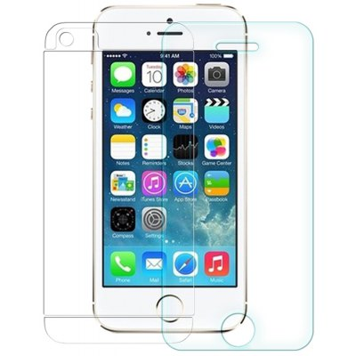 Nillkin 3 in 1 9H 0.33mm Tempered Glass Front Screen Protector with Rear Back Film Camera Film Set for iPhone 5 5S SE