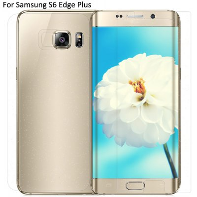 Nillkin High Transparency Screen Protective 4H Anti-scratch Flim with Back Cover Film for Samsung Galaxy S6 Edge Plus