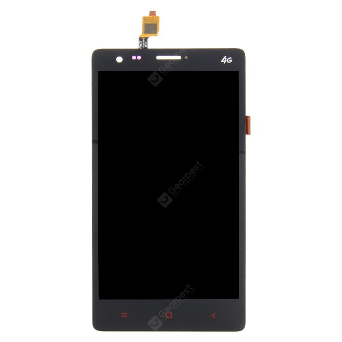 Original Mlais M52 Red Note LCD Touch Screen Digitizer + Display Assembly BLACK