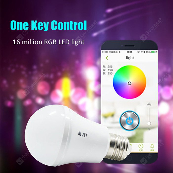 iLAT E27 Smart Bluetooth 4.0 Music LED Bulb 146636201