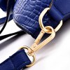 Stylish Crocodile Print and Metal Hasp Design Women's Shoulder Bag deal