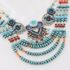 Beads Layered Round Necklace for sale