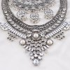 Vintage Layered Tassel Rhinestone Round Waterdrop Necklace For Women deal