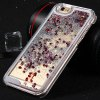 Plastic Back Cover Case Heart Shaped Sequins Design for iPhone 6 - 4.7inch