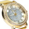 YTwatch Diamond Lady Quartz Watch with Stainless Steel Band deal