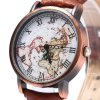 FEIFAN 62056G Retro Male Quartz Watch with Leather Band deal