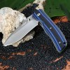 best Sanrenmu 9055 MUC-GHI Stainless Steel Blade Folding Knife