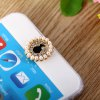 cheap Pearl Portrait Style Home Button Key Cover Sticker for iPhone 6S / 6 Plus 5S 5 iPad iPod Touch