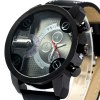 Weite Men Quartz Watch with Leather Band deal