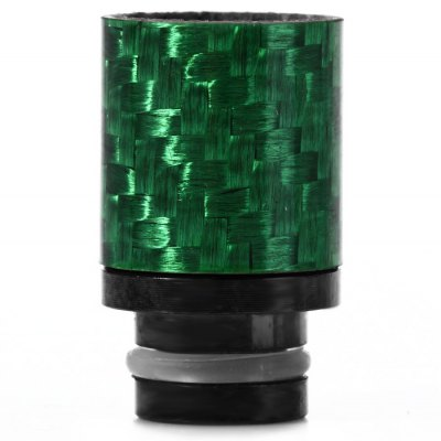 Carbon Fiber + Stainless Steel 510 Drip Tip E Cigarette Drip Tip
