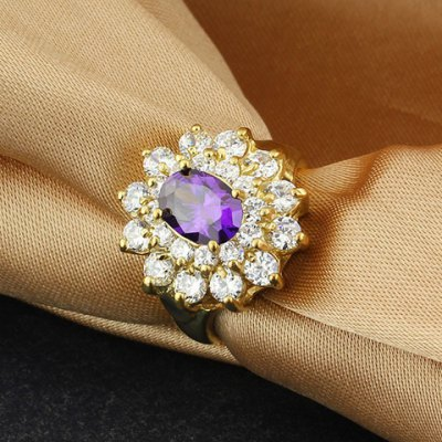 Elegant Rhinestoned Flower Ring For WomenRings<br>Elegant Rhinestoned Flower Ring For Women<br><br>Gender: For Women<br>Material: Rhinestone<br>Metal Type: Copper<br>Style: Noble and Elegant<br>Shape/Pattern: Floral<br>Diameter: 1.7CM<br>Weight: 0.05KG<br>Package Contents: 1 x Ring