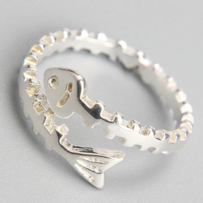 Sweet Solid Color Fish Bone Cuff Ring For WomenRings<br>Sweet Solid Color Fish Bone Cuff Ring For Women<br><br>Gender: For Women<br>Metal Type: Alloy<br>Style: Trendy<br>Shape/Pattern: Animal<br>Diameter: 1.7CM<br>Weight: 0.040KG<br>Package Contents: 1 x Ring