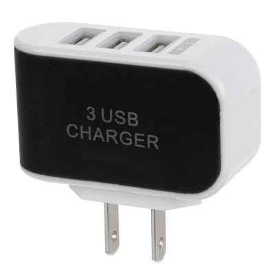 Jtron 3-Port USB 3.1A Power Adapter Charger