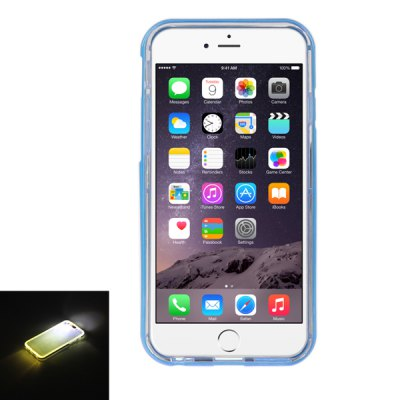 ENKAY Back Cover Case Protector Screen Film 2 in 1 for iPhone 6 Plus