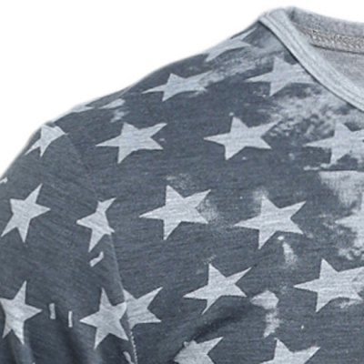 Personality Star Stripes Irregular Print Color Block Slimming Round Neck Long Sleeves Mens T-ShirtMens Long Sleeves Tees<br>Personality Star Stripes Irregular Print Color Block Slimming Round Neck Long Sleeves Mens T-Shirt<br><br>Material: Cotton Blends<br>Sleeve Length: Full<br>Collar: Round Neck<br>Style: Fashion<br>Weight: 0.237KG<br>Package Contents: 1 x T-Shirt<br>Pattern Type: Star