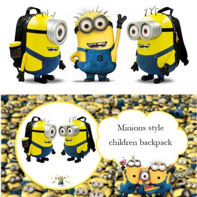 12.5L Minions Style Children Backpack