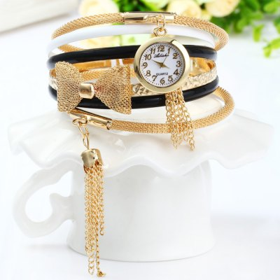 Ailisha Female Quartz Multilayer Chain Watch