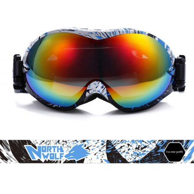 NORTH WOLF NW918 Ski Goggles Double-deck Anti-fog