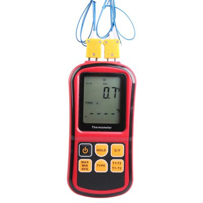 GM1312 Dual-Channel Thermocouple Thermometer
