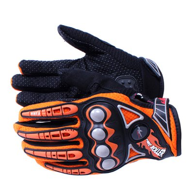 PRO-BIKER Safety Full Finger GlovesMotorcycle Gloves<br>PRO-BIKER Safety Full Finger Gloves<br><br>Accessories Type: Motorcycle Gloves<br>Gender: Universal<br>Function : Windproof, Breathable, Wearable<br>Material: Lycra, Microfiber<br>Size: M, L, XL<br>Product weight: 0.140 kg<br>Package weight: 0.22 kg<br>Package size (L x W x H): 32 x 17 x 7 cm / 12.58 x 6.68 x 2.75 inches<br>Package Contents : 1 x Pair of Motorcycle Gloves