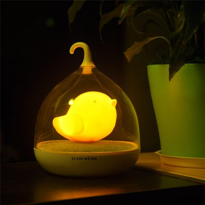 Фотография TEAMWORK Birdcage Pattern LED Light with USB Charging Function for Household Supplies