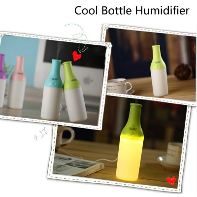 3 in 1 Practical Mini USB Cool Bottle Humidifier / Aromatherapy Machine / LED Nightlight for Car Office Home от GearBest.com INT