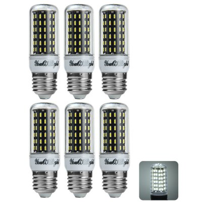6 x YouOKLight E27 12W 1000LM SMD 4014 96 LED Corn Light