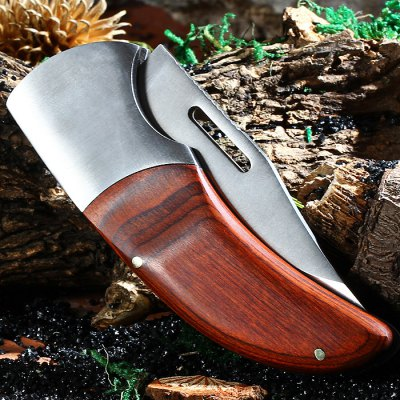 SANJIA 077A No Lock Folding Knife Titanium Coated BladePocket Knives and Folding Knives<br>SANJIA 077A No Lock Folding Knife Titanium Coated Blade<br><br>Brand: SANJIA<br>Lock Type: No lock<br>Blade Edge Type: Fine<br>For: Home use, Mountaineering, Adventure, Hiking, Camping, Travel<br>Color: Silver Blade + Wind Red Handle<br>Blade Material: Stainless steel<br>Handle Material: Wooden + Stainless Steel<br>Fold Length: 11 cm<br>Unfold Length: 18.5 cm<br>Blade Length: 8.0 cm<br>Blade Width : 3 cm<br>Product weight   : 0.150 kg<br>Package weight   : 0.200 kg<br>Product size (L x W x H)   : 11 x 4 x 1.5 cm / 4.32 x 1.57 x 0.59 inches<br>Package size (L x W x H)  : 13 x 6 x 3 cm / 5.11 x 2.36 x 1.18 inches<br>Package contents: 1 x SANJIA 077A Folding Knife, 1 x Nylon Storage Bag