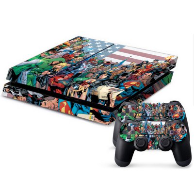 Console Controller Sticker for PS4
