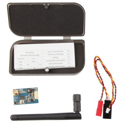 FX796T 40CH 5.8G 600mW Right Angle Antenna Transmitter Set for RC DIY Project