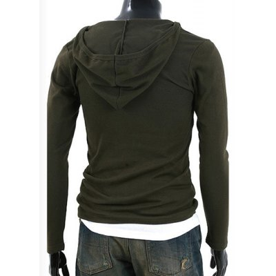 Simple Hooded Chest Hollow Out Solid Color Slimming Mens Long Sleeves T-ShirtMens Long Sleeves Tees<br>Simple Hooded Chest Hollow Out Solid Color Slimming Mens Long Sleeves T-Shirt<br><br>Material: Cotton Blends<br>Sleeve Length: Full<br>Collar: Hooded<br>Style: Fashion<br>Weight: 0.280KG<br>Package Contents: 1 x T-Shirt<br>Pattern Type: Solid