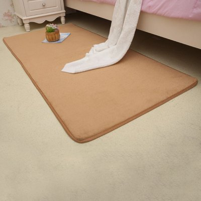 Exquisite Creative Solid Color Skidproof RugCarpets &amp; Rugs<br>Exquisite Creative Solid Color Skidproof Rug<br><br>Type: Rug<br>Material: Other<br>Style : Contemporary<br>Shapes: Rectangle<br>Size(CM): 40*60CM<br>Weight: 0.263KG<br>Package Contents: 1 x Rug