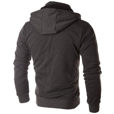 Multi-Zipper Double Top Fly Color Spliced Drawstring Hooded Long Sleeves Mens Faux Twinset HoodieMens Hoodies &amp; Sweatshirts<br>Multi-Zipper Double Top Fly Color Spliced Drawstring Hooded Long Sleeves Mens Faux Twinset Hoodie<br><br>Material: Cotton Blends<br>Clothing Length: Regular<br>Sleeve Length: Full<br>Style: Fashion<br>Weight: 0.507KG<br>Package Contents: 1 x Hoodie