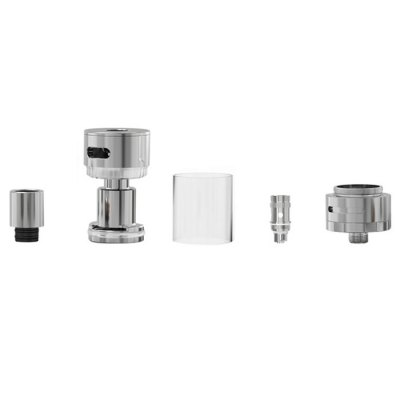 Melo 2 E - Cigarette RTA AtomizerClearomizers<br>Melo 2 E - Cigarette RTA Atomizer<br><br>Type: Rebuildable Tanks, Rebuildable Atomizer, Tank Atomizer<br>Rebuildable Atomizer: RBA, RTA<br>Model: Melo 2<br>Available Color : Silver<br>Feature: Rebuildable, Detachable<br>Material  : Glass, Stainless steel<br>Thread Type: 510<br>Overall Diameter: 22mm<br>Tank Capacity : 4.5ml<br>Avaliable Heater Core: TC Coil, Normal Coil<br>Resistance : 0.3ohm<br>Product weight  : 0.050 kg<br>Package weight  : 0.170 kg<br>Product size (L x W x H)  : 2.2 x 2.2 x 6.6 cm / 0.86 x 0.86 x 2.59 inches<br>Package size (L x W x H)  : 3.2 x 5.2 x 9.6 cm / 1.26 x 2.04 x 3.77 inches<br>Package Contents: 1 ? MELO 2 Mouthpiece, 1 ? MELO 2 Atomizer Tube, 1 ? MELO 2 Atomizer Base, 1 ? EC Head (0.3ohm), 1 ? EC TC-Ni Head (0.15ohm), 1 ? EC TC-Ti Head (0.5ohm), 4 ? Sealing Ring, 1 ? Silicone Ring, 1 ? Manua