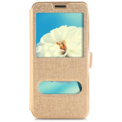 Phone Protective PU Cover Case for Samsung S6 Edge Plus Oracle Style with Holder Function