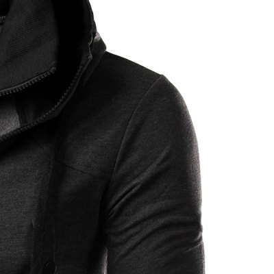 Hit Color Double Zipper Fly Stereo Flap Pocket Rib Spliced Hooded Long Sleeves Mens Faux Twinset HoodieMens Hoodies &amp; Sweatshirts<br>Hit Color Double Zipper Fly Stereo Flap Pocket Rib Spliced Hooded Long Sleeves Mens Faux Twinset Hoodie<br><br>Material: Cotton Blends<br>Clothing Length: Regular<br>Sleeve Length: Full<br>Style: Fashion<br>Weight: 0.592KG<br>Package Contents: 1 x Hoodie