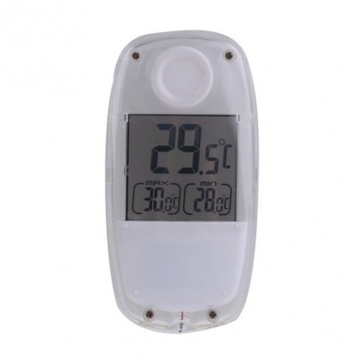 TS-W32 Solar Powered Thermometer for Home