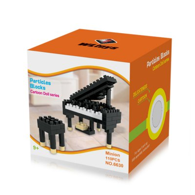 WLtoys 110 Pcs Piano Building Block 6630 IQ Training