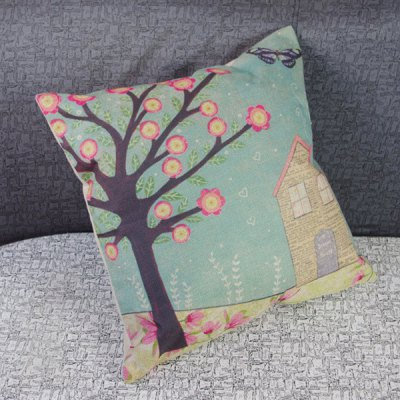Funny Linen Tree and House Pattern Decorative Pillowcase (Without Pillow Inner)Cushion<br>Funny Linen Tree and House Pattern Decorative Pillowcase (Without Pillow Inner)<br><br>Material: Other<br>Pattern: Other<br>Style: Modern/Contemporary<br>Shape: Square<br>Size(CM): 44CM * 44CM<br>Weight: 0.133KG<br>Package Contents: 1 x Pillowcase