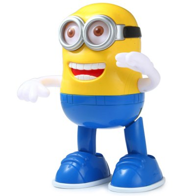 Гаджет   Music and Dance Minion Toy with Light for 3+ Puzzle & Educational